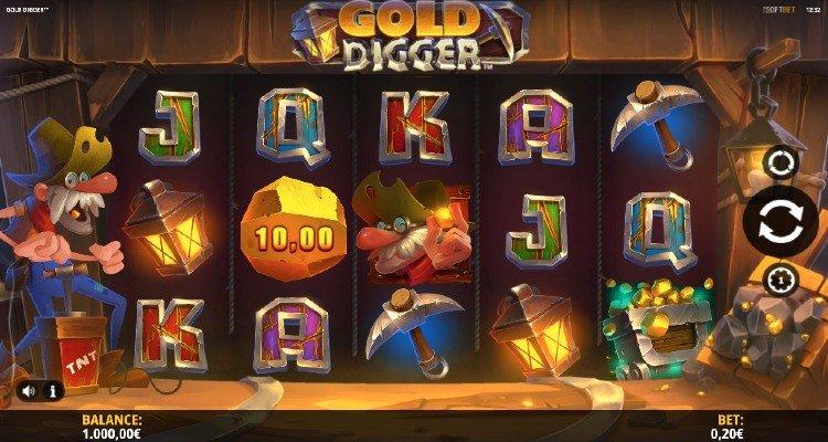 Golddigger Spel