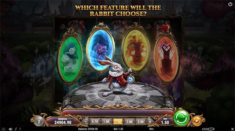 rabbit riches bonusgame